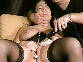 mature bdsm and electro pain of english slaveslut