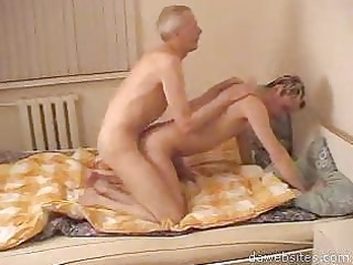 granny gay bangs his young fresh guy uneasy